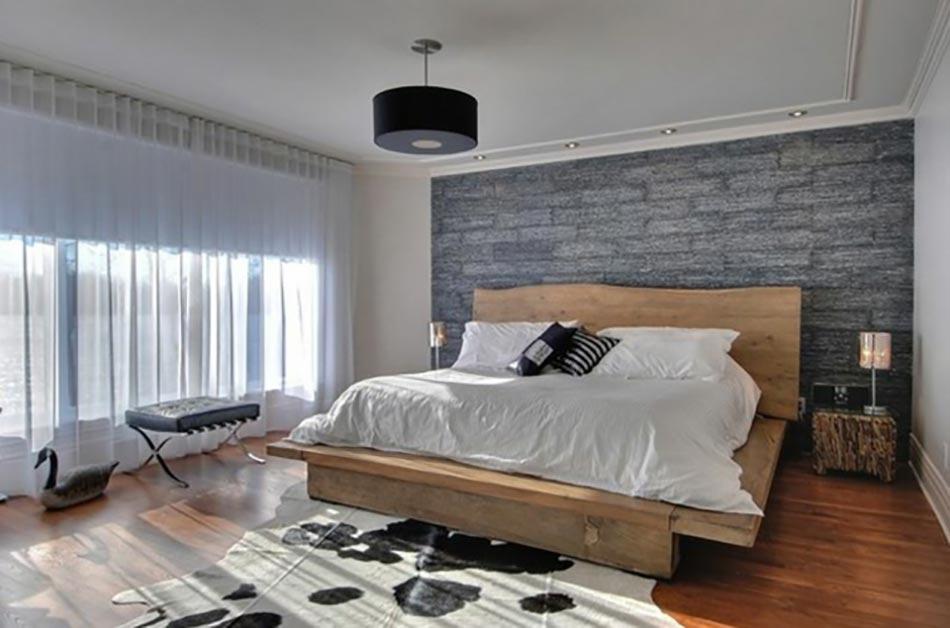 Stunning Chambre Rustique Moderne Contemporary - Matkin.info ...