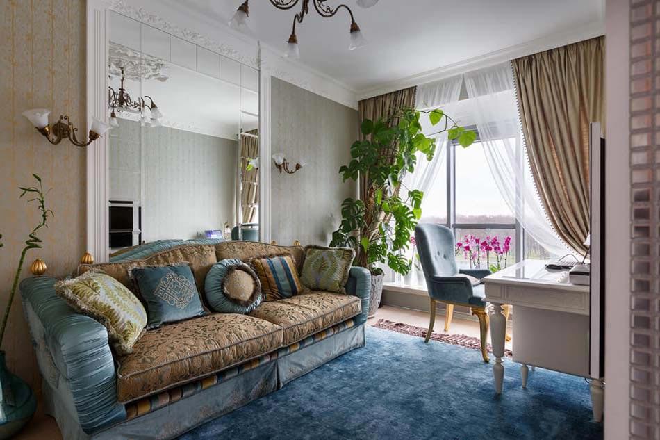 Bel appartement luxueux saint p tersbourg au design - Ameublement design appartement russe ...