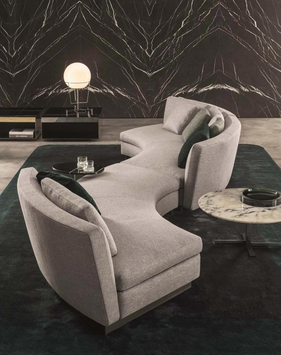 le canap design ou la pi ce maitresse du s jour contemporain design feria. Black Bedroom Furniture Sets. Home Design Ideas