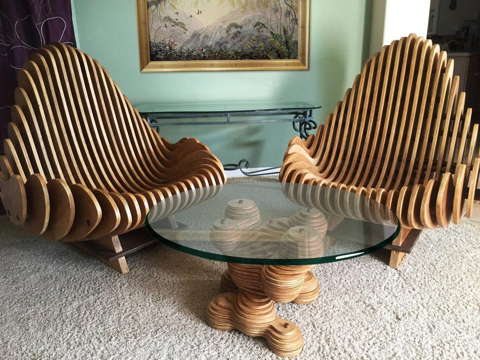 Un mobilier rustique et contemporain la fois pour un int rieur cr atif de - Pieds de table originaux ...