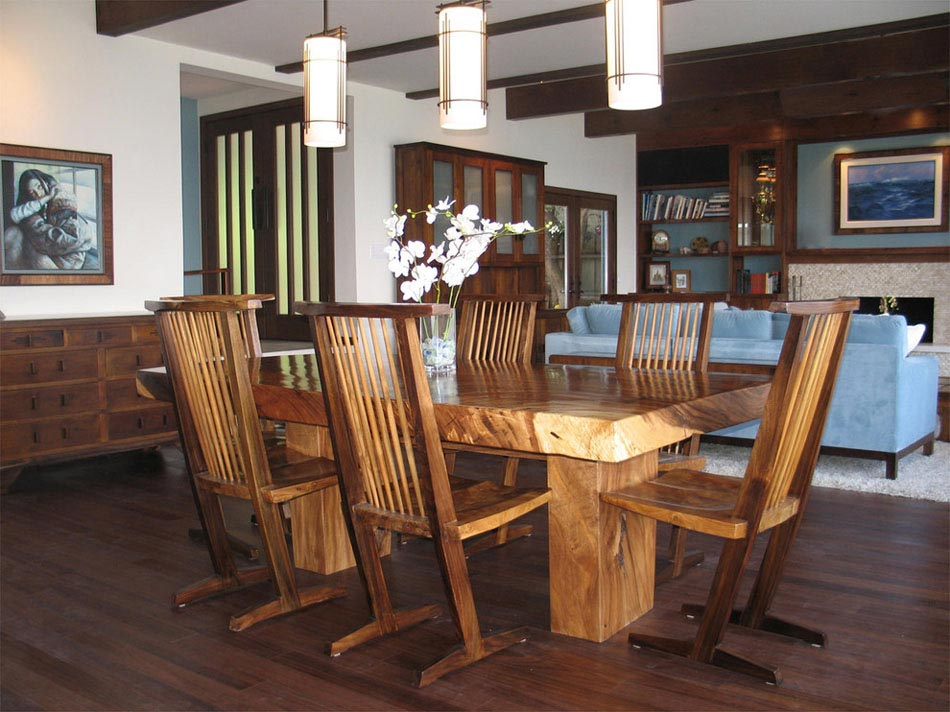 Chaises design devenues le bijou d co dans l ameublement d for Model de table a manger en bois