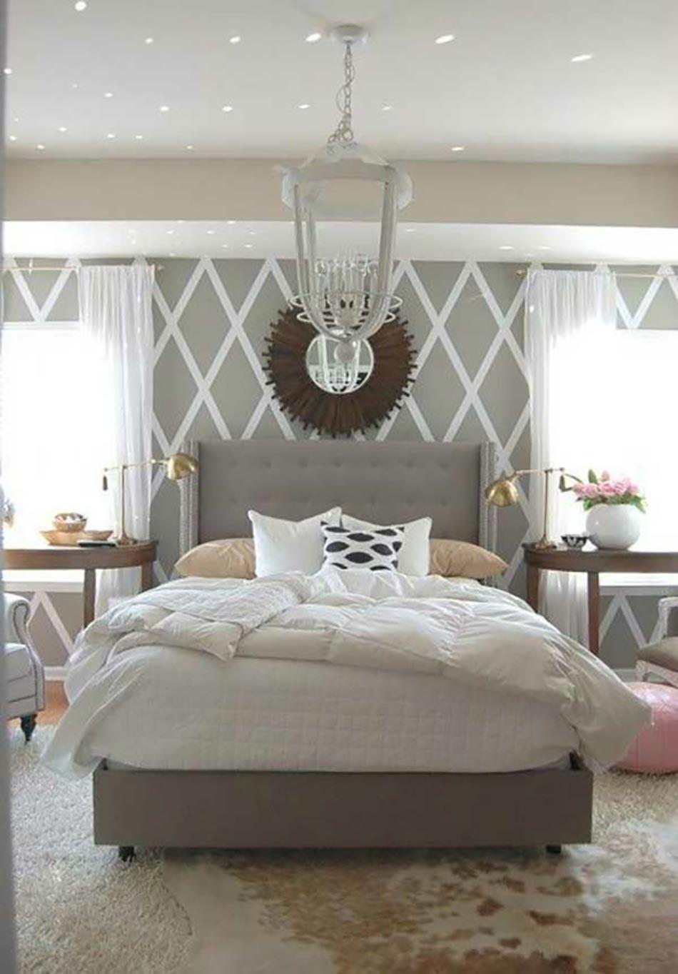 16 sources d inspiration design pour votre chambre coucher - Chambre a coucher blanc design ...