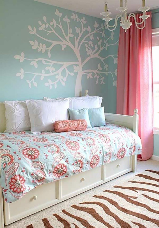 16 sources d inspiration design pour votre chambre coucher - Chambre bleu pastel ...