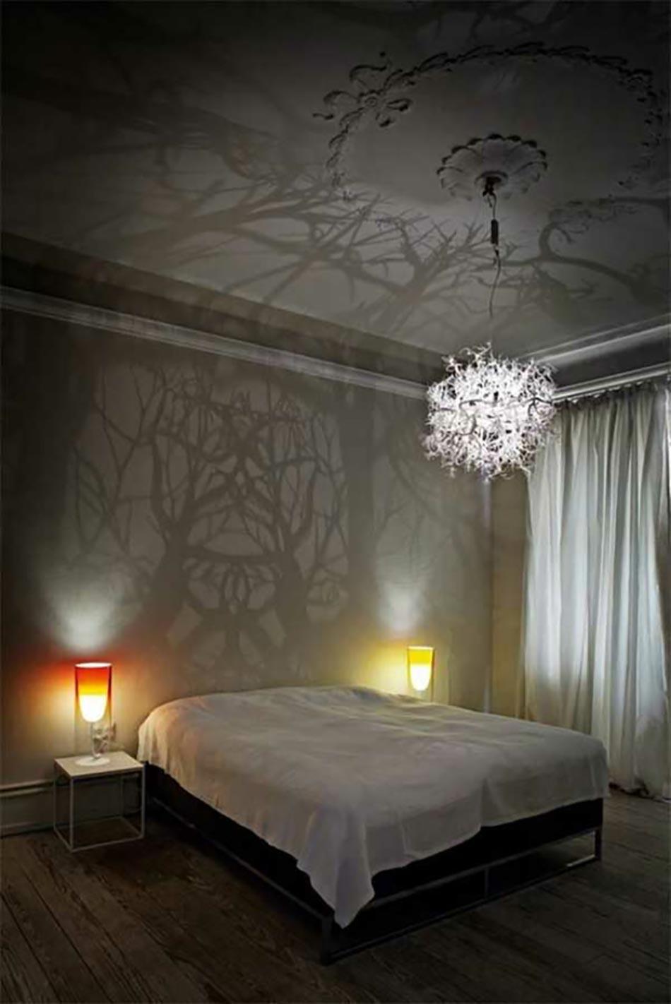 Lustre de chambre a coucher deco france for Lustre design chambre
