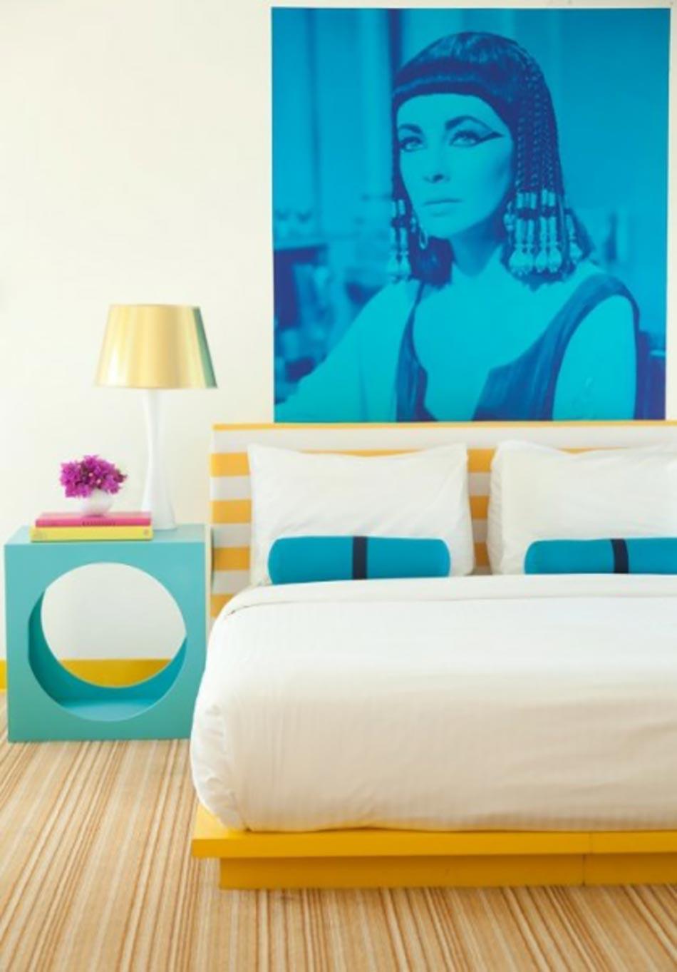 Parfait Chambre à Coucher Inspirée Par Le Décor Hôtelier