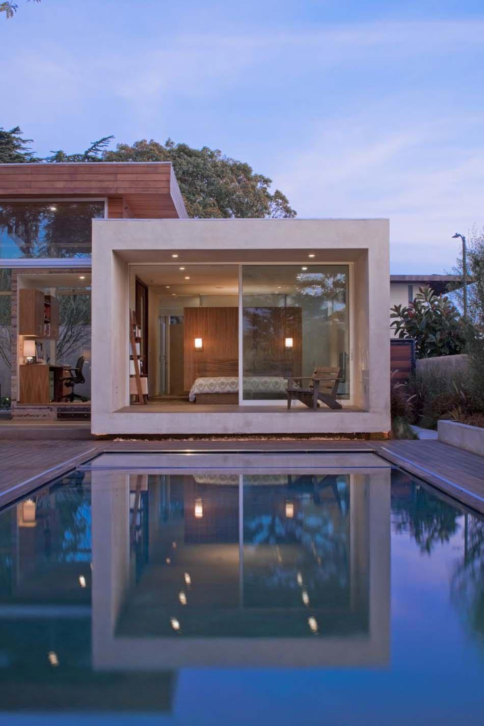 maison moderne avec piscine intérieure Des suites avec piscine intà ...