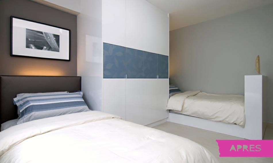 Belle r novation appartement singapour design feria for Renovation chambre a coucher