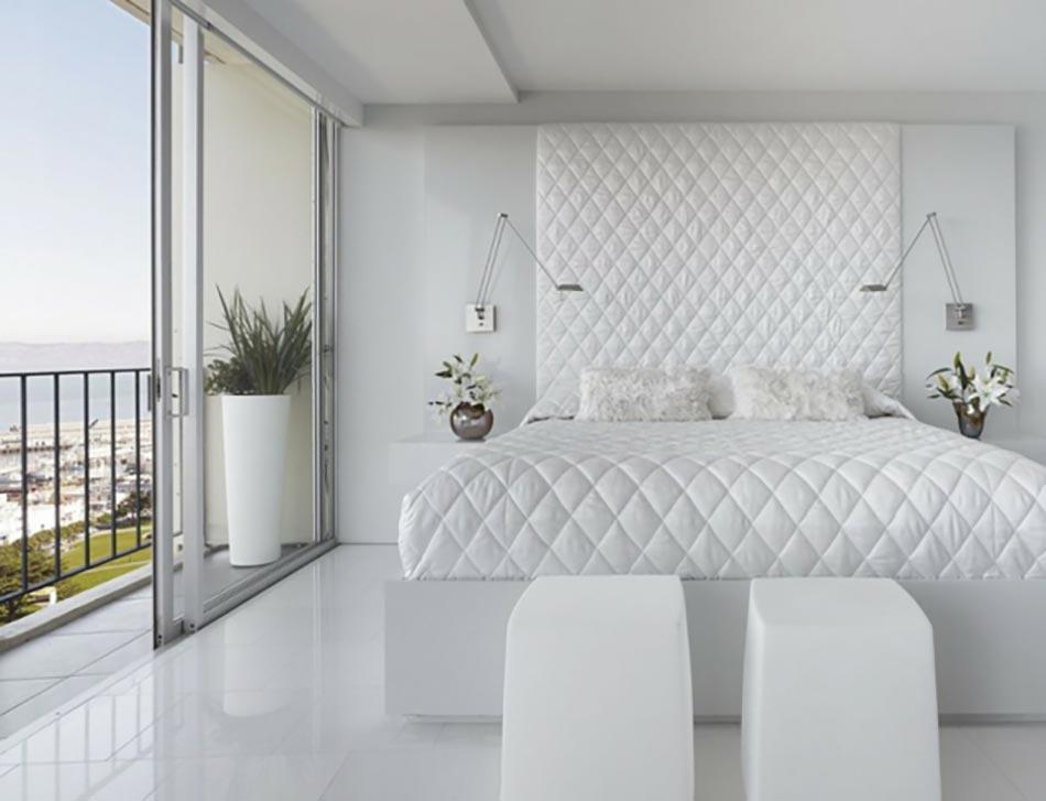 Design Intérieur D'Un Blanc Immaculé | Design Feria