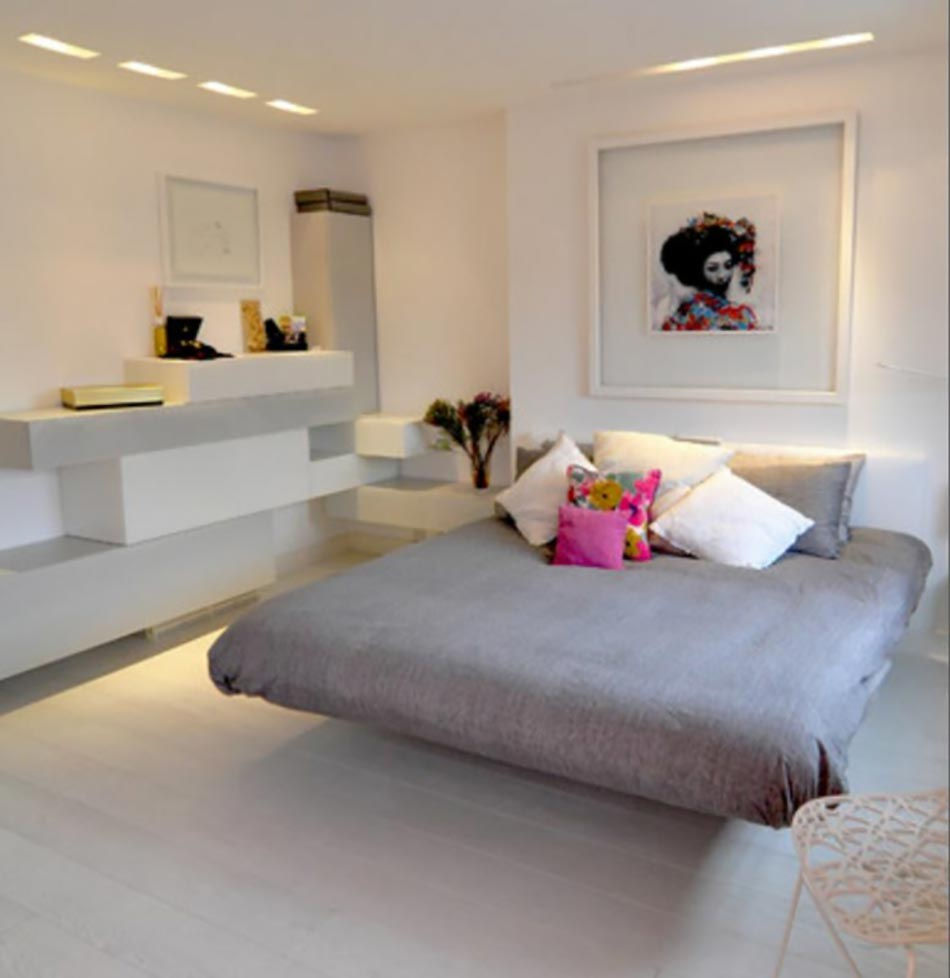 d233coration chambre fuchsia gris