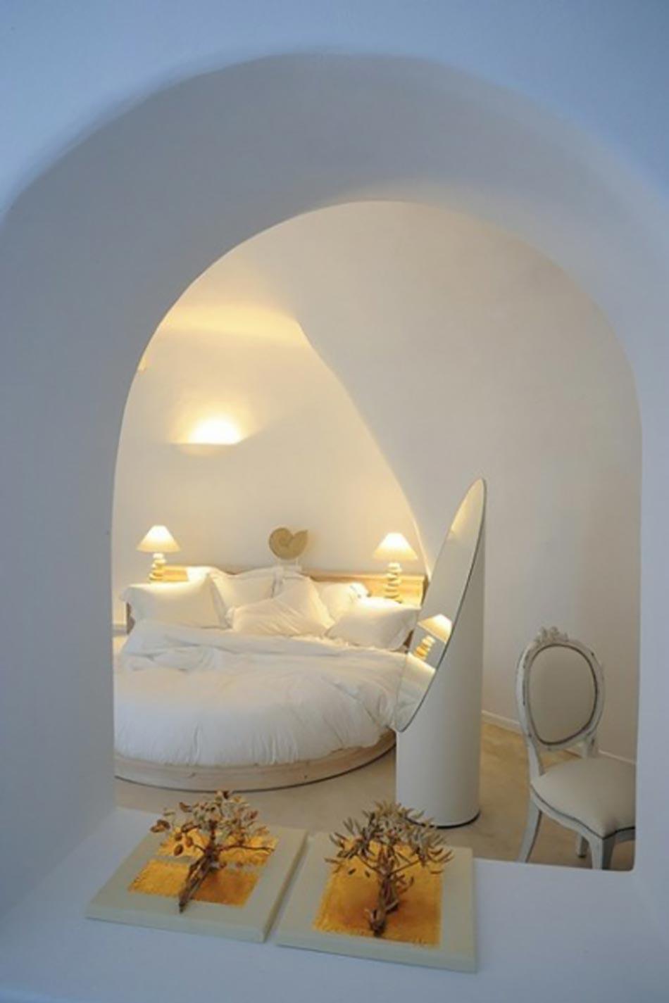 Merveilleux Chambre Du0027hôtel Architecture Arrondie