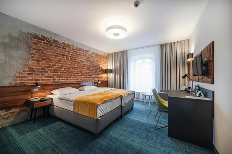 Elegant Chambre Industriel Du Design Hôtel