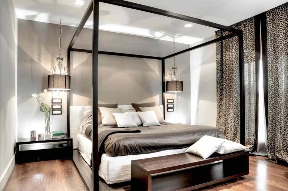 d co chambre moderne design. Black Bedroom Furniture Sets. Home Design Ideas