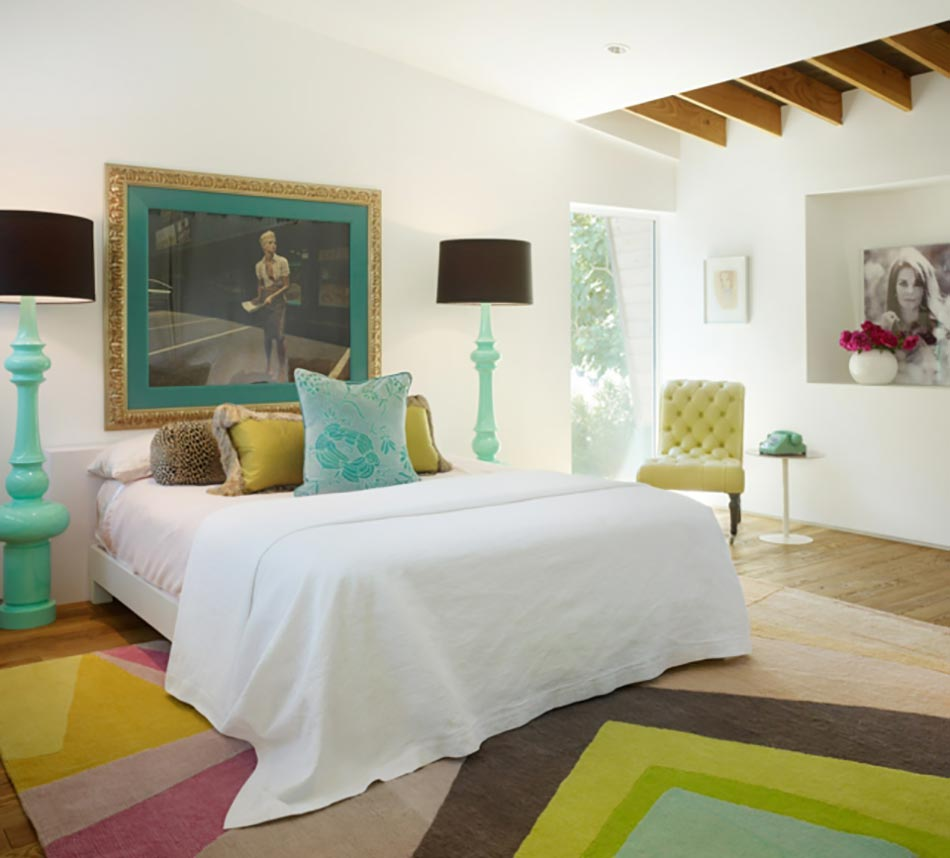 Touches f minines pour une chambre design moderne design for Chambre moderne design