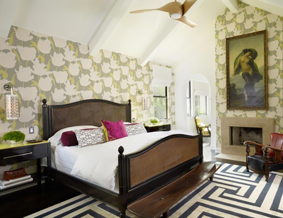 d coration sur les murs pour une chambre tr s design. Black Bedroom Furniture Sets. Home Design Ideas