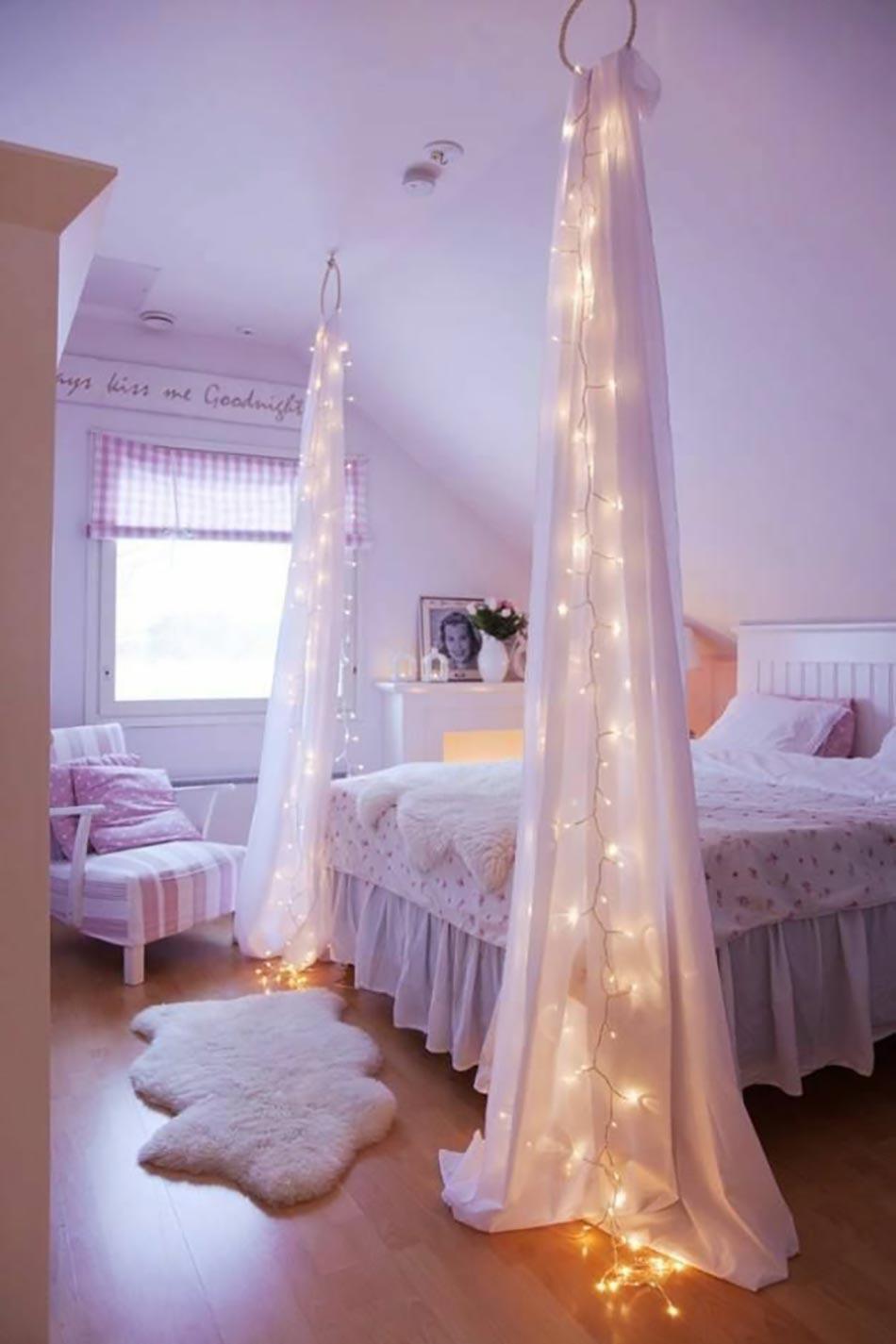 chambre princesse aux led - Eclairage Chambre Led