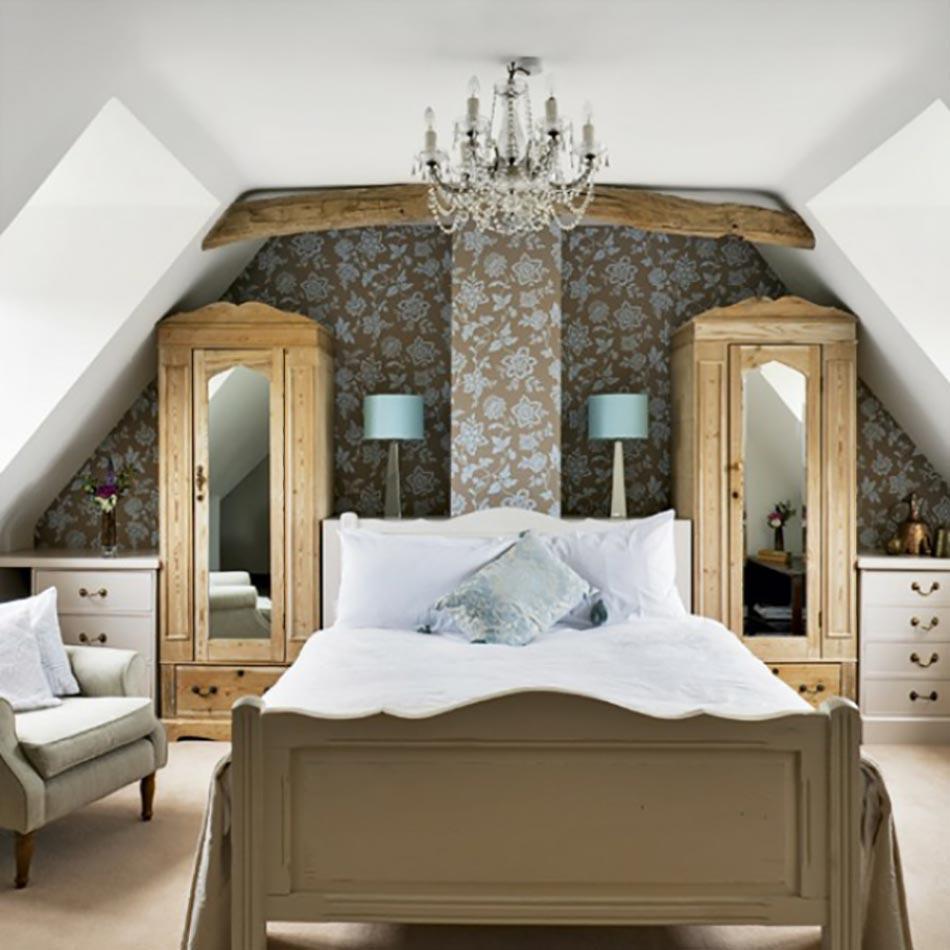 ... des combles pour une jolie chambre sous toit  Design Feria