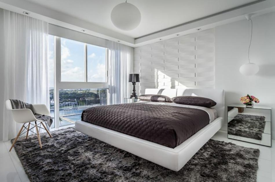 Bel appartement de vacances au design int rieur moderne - Residence de vacances contemporaine miami ...