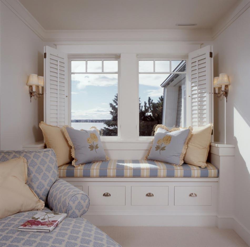 Window Seat Ou Laménagement Chambre à Lambiance Douillette