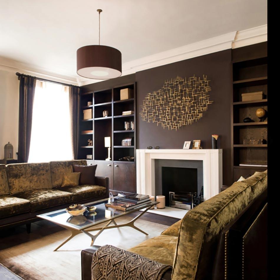 Peindre les murs int rieurs dans des couleurs sombres - Idee couleur sejour ...