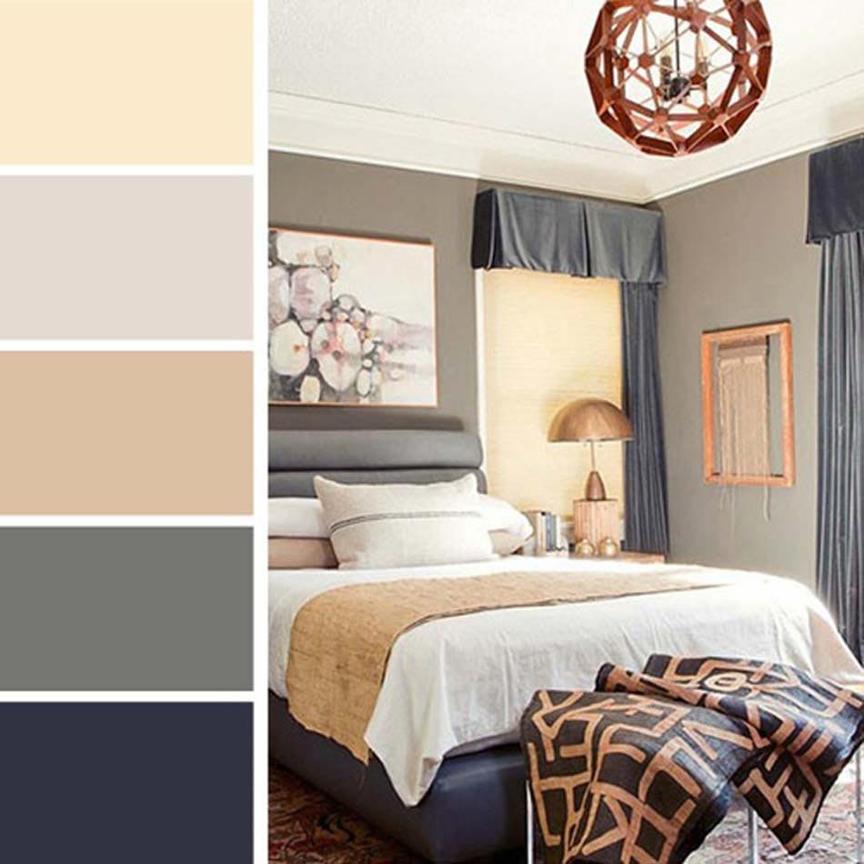 Palettes de couleurs l aide pr cieuse pour harmoniser les teintes du design - Couleur pour interieur maison ...