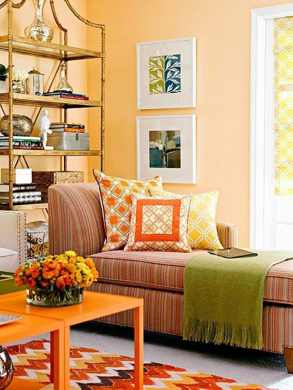 le jaune pour une décoration intérieure joyeuse | design feria