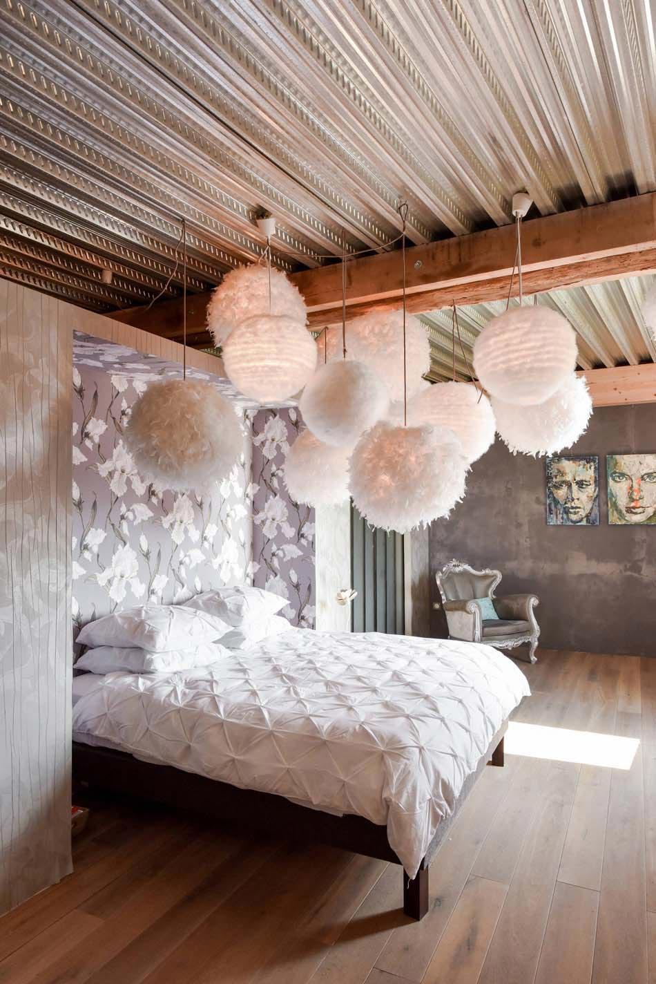 Chambre déco éclectique au caractère bien trempé  Design Feria
