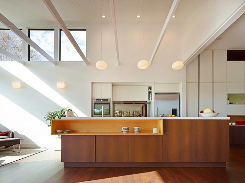 Luminaires de cuisine moderne led oiseau blanc fer for Luminaire cuisine rustique