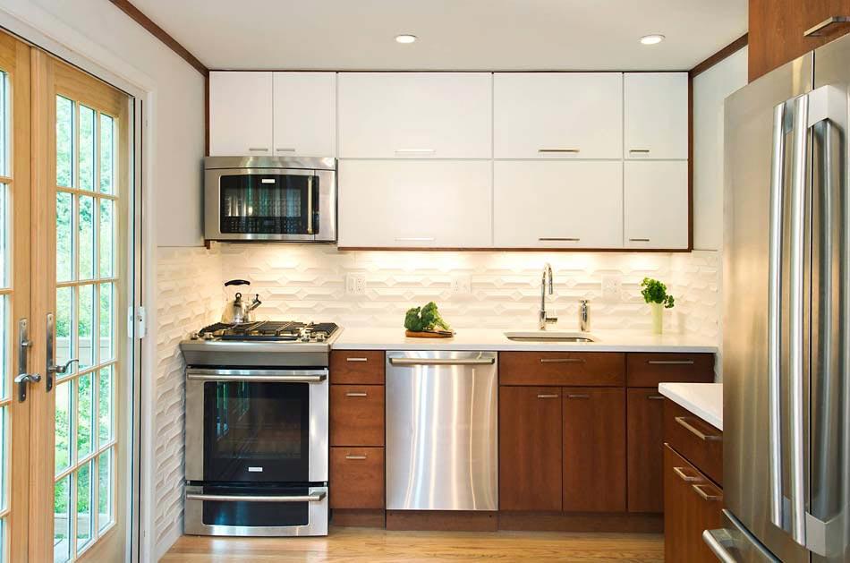 15 exemples de petite cuisine pratique et parfaitement agenc e design feria for Petit espace cuisine