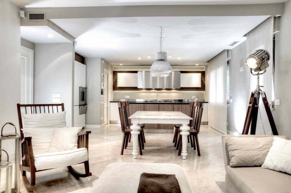Magnifique design int rieur l italienne pour cette belle for Interieur maison moderne cuisine