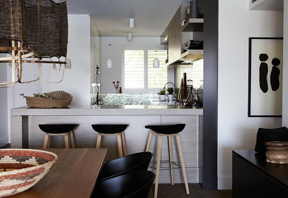 Appartement moderne et chic avec vue imprenable sur l for Cuisines ouvertes sur sejour