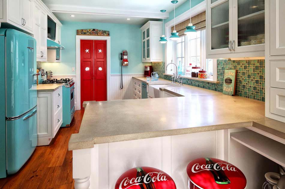 decoration cuisine annee 50