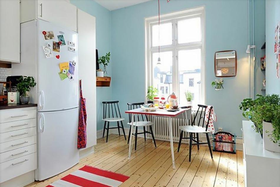 Deco maison de toute fraicheur avec des fleurs design feria - Amenager une cuisine de 8m2 ...