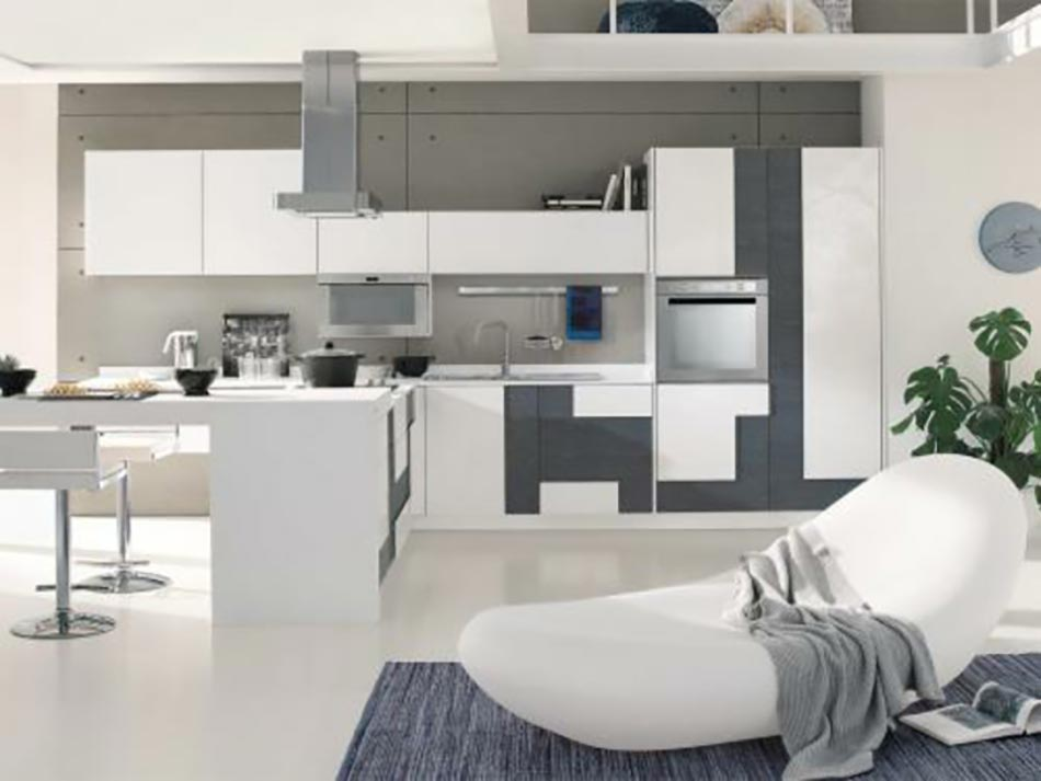 15 mod les de cuisine design italien sign s cucinelube. Black Bedroom Furniture Sets. Home Design Ideas