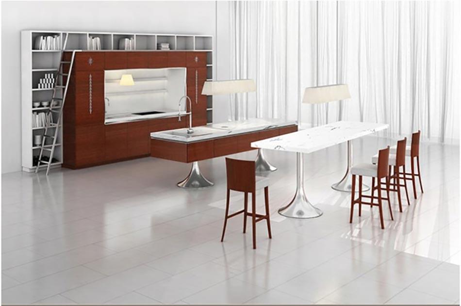 cuisine design contemporain sign philippe starck design feria. Black Bedroom Furniture Sets. Home Design Ideas