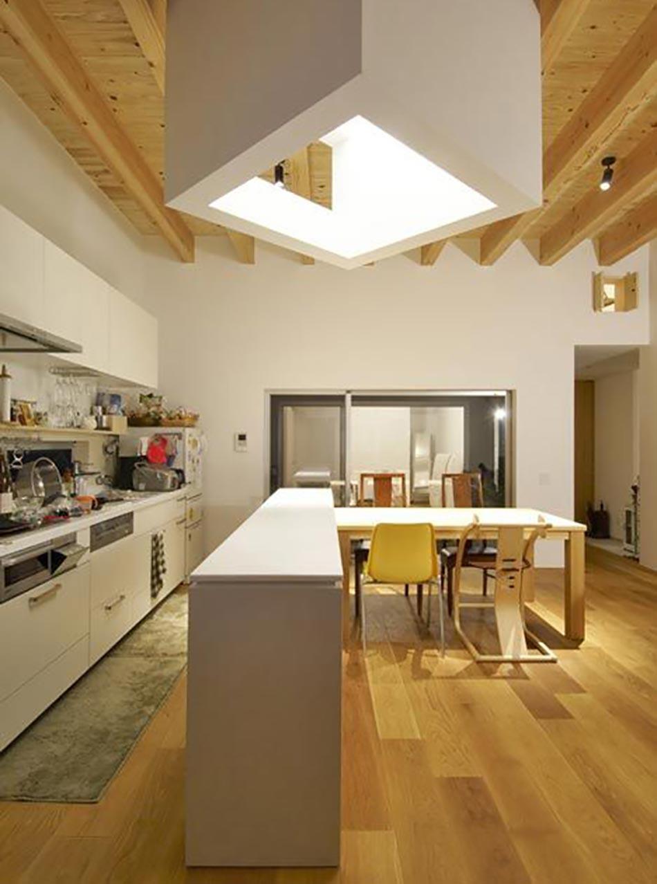 Cuisine au design contemporain et moderne