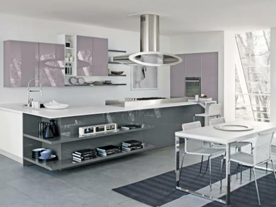 15 mod les de cuisine design italien sign s cucinelube. Black Bedroom Furniture Sets. Home Design Ideas