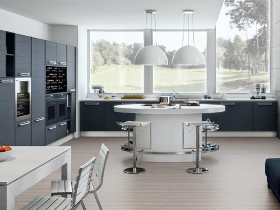 15 mod les de cuisine design italien sign s cucinelube for Cuisine salon design