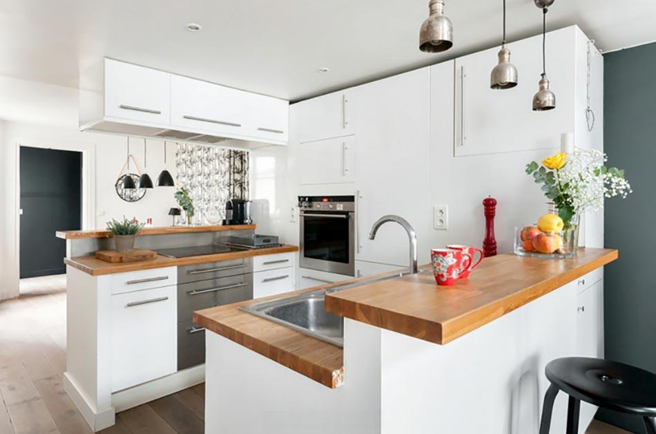 Le blanc en tant que fond parfait pour une d co design for Cuisine deco design