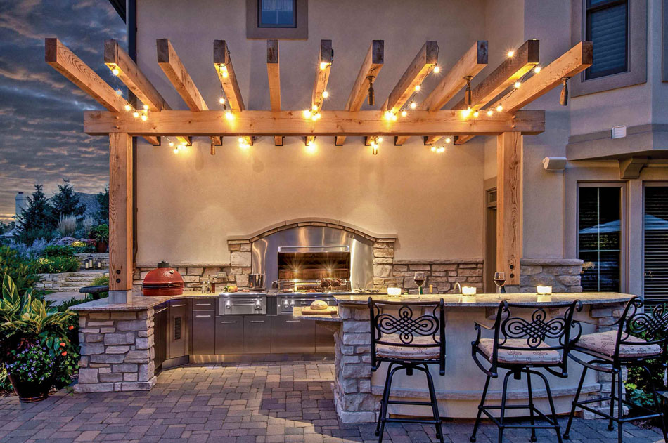 la cuisine d t le centre fun and sympa du jardin photo cuisine exterieure jardin - Photo Cuisine Exterieure Jardin