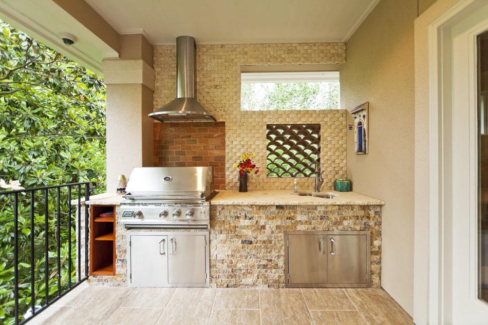 La cuisine d'̩t̩ Рle centre fun and sympa du jardin pendant les ...