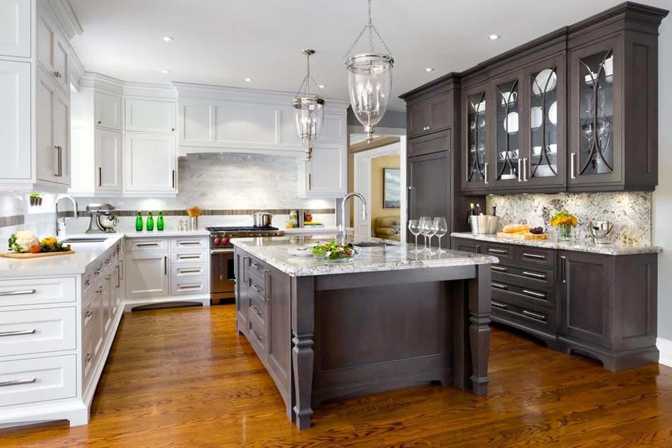 Couleurs agr able pour une cuisine d co moderne et for Cuisine familiale