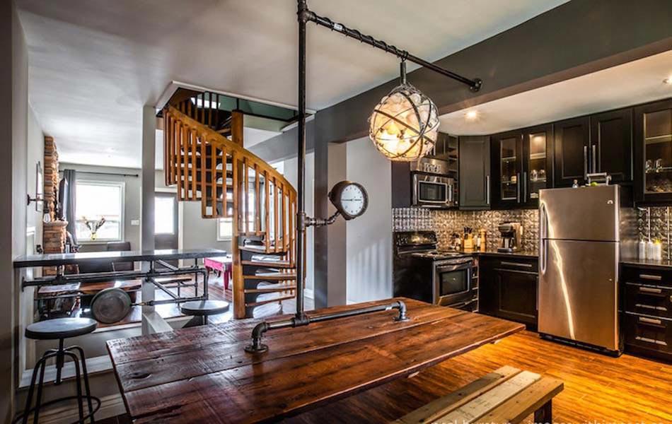 Un int rieur de maison la tendance r tro dans l esprit d co steampunk design feria for Interieurs de maison