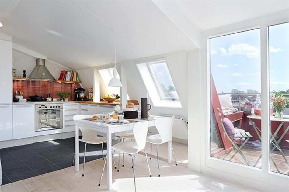 Petite cuisine cr ative aux influences modernes - Appartement de ville anton bazaliiskii ...