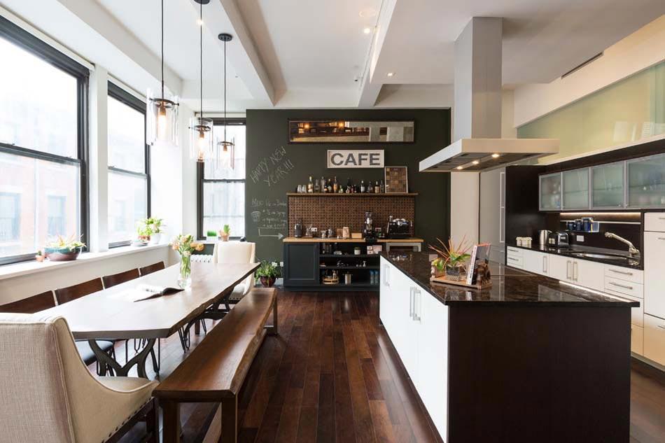 le tableau noir une id e de d co cuisine cr ative et conviviale design feria. Black Bedroom Furniture Sets. Home Design Ideas
