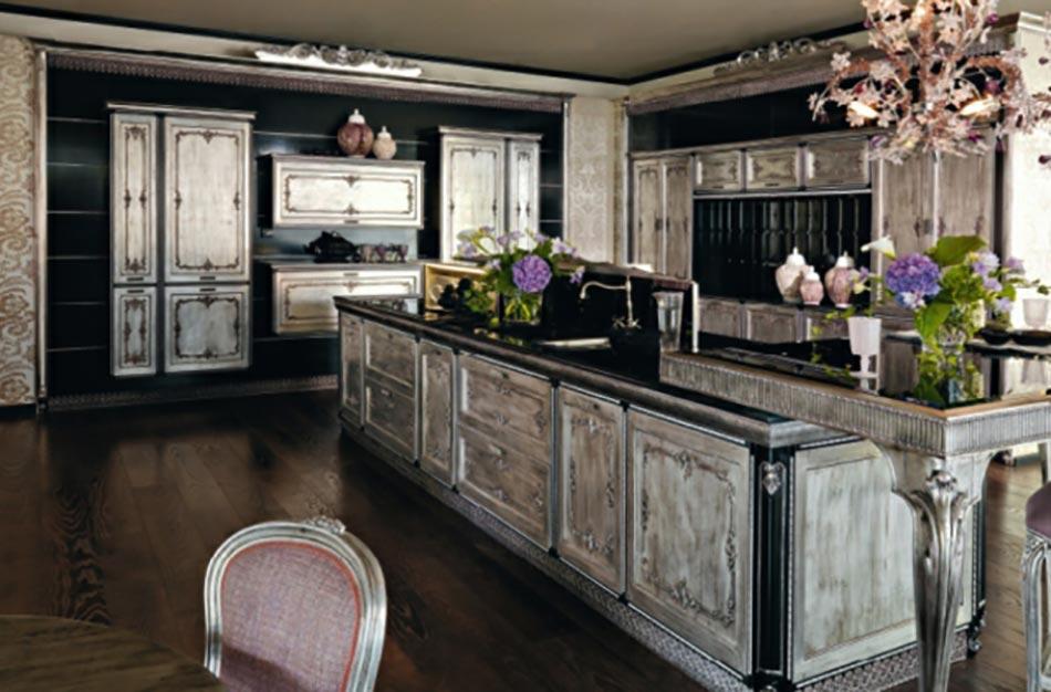 ameublement baroque revisite cuisine - Salle A Manger Baroque Moderne