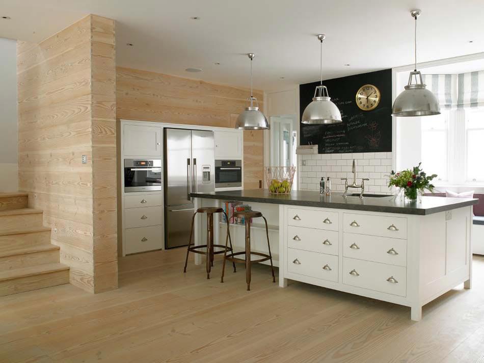 Le tableau noir une id e de d co cuisine cr ative et conviviale design feria - Tableau de cuisine moderne ...