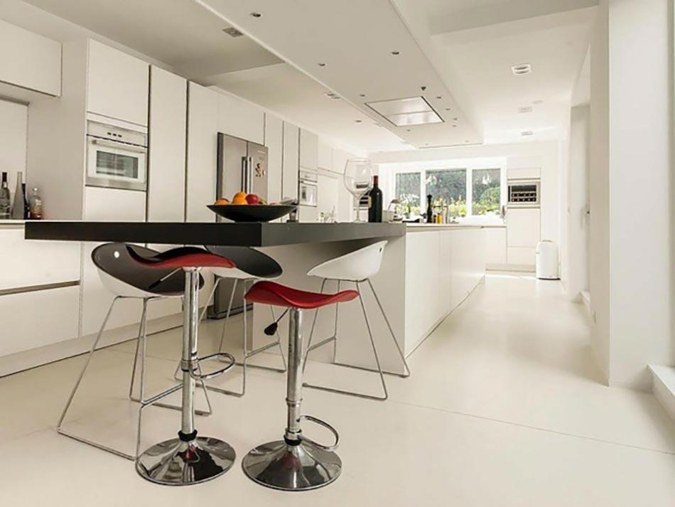 La cuisine moderne et ses visages multiples design feria for Cuisine moderne loft