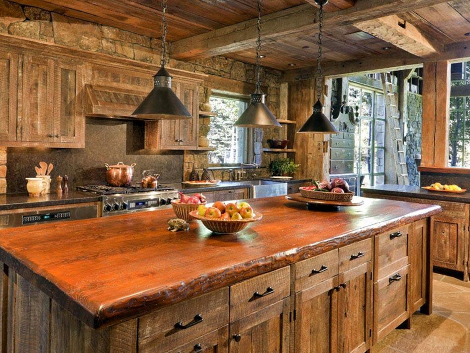 L\'intérieur bois rustique : garantie pour la chaleur et le bien-être ...