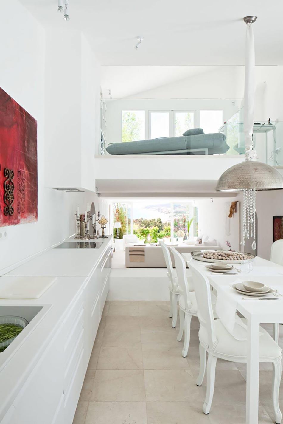 magnifique villa de luxe sur la c te espagnole design feria. Black Bedroom Furniture Sets. Home Design Ideas