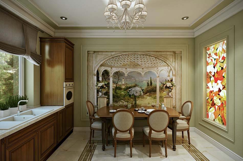 Appartement moderne salle a manger meilleures images d for Salle a manger bois massif